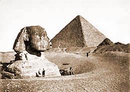 ESFINGE EM 1930